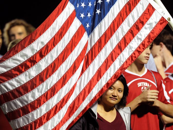 Smyrna's soccer team represented the United States