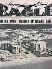 The Nov. 3, 1968 Marco Island Eagle.