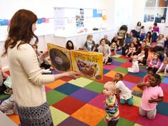 Reading to your child aids their development