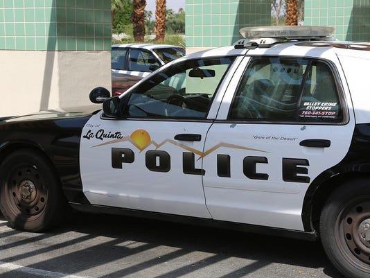 La Quinta police car stockable