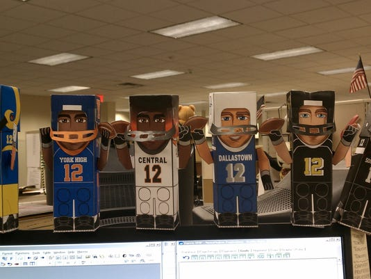 For example, my best spirit shot might be a picture of all the different Paper Champs I constructed during my travels with the NewsVroom this fall. Post your best pictures on GameTimePA's Facebook wall for a chance to win.