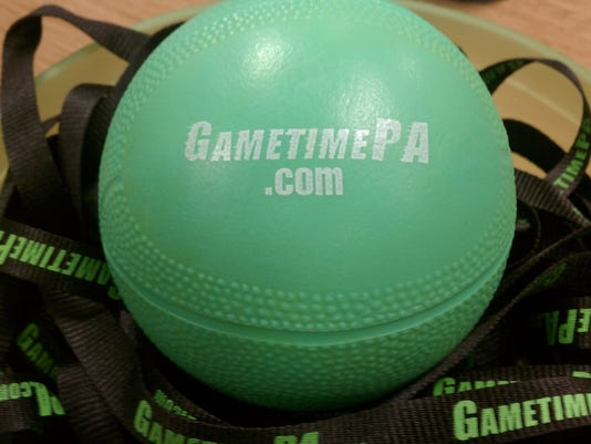 We will be giving away some GameTimePA basketballs at upcoming NewsVroom events!