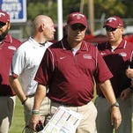 Mark Samson walked the sideline for 10 seasons as head coach at Montana State-Northern.