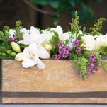 Crafters will start with an upcycled tissue box to make this pretty centerpiece planter or vase at the May 16 Crafternoon program at the Fond du Lac Public Library. Registration is required and starts at 9 a.m. Saturday, May 2, at fdlpl.org, or by calling (920) 322-3929.