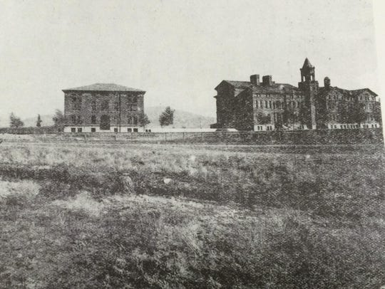 The School for the Deaf and Blind in Boulder in 1896.