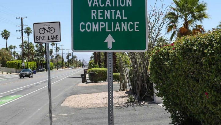 The Palm Springs vacation rental compliance department