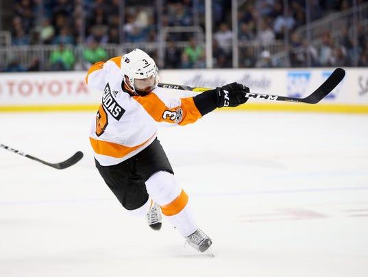 Philadelphia Flyers v San Jose Sharks