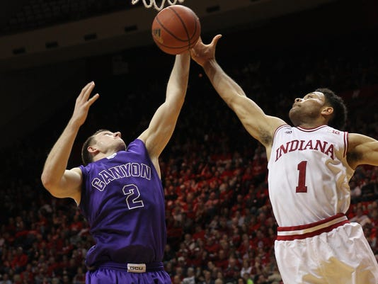 NCAA Basketball: Grand Canyon at Indiana