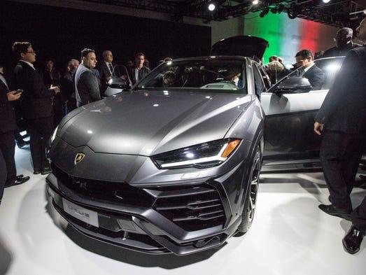 lamborghini vows supercar performance in urus suv