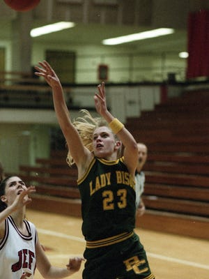 Christy Smith during her playing days at Benton Central.