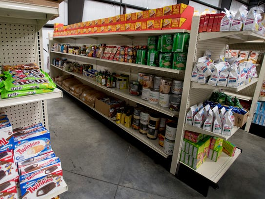 The Market Spot at the Montgomery Area Food Bank that