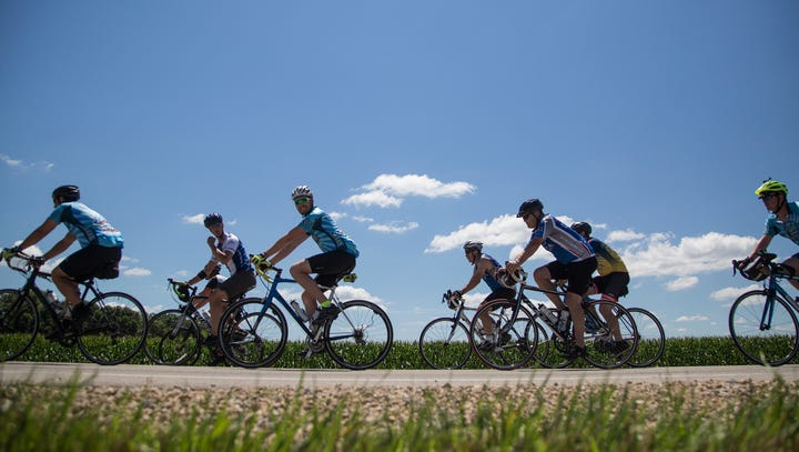 Flooding forces RAGBRAI to re-route around Ledges State Park