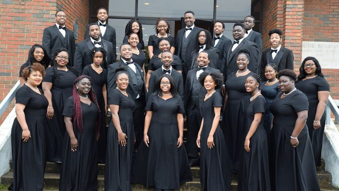 The Alabama State University choir will perform Friday at the Concert for Peace & Justice.