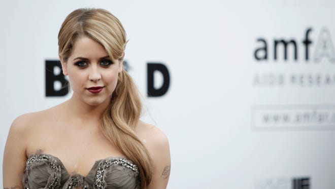 Peaches Geldof, shown on  May 21, 2009, died on Monday.
