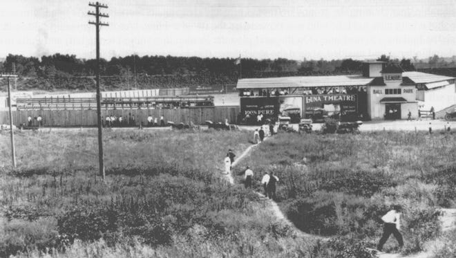 League Park, which was on the Wabash River levee in West Lafayette, was the site of baseball and football games in the early 20th century.