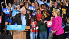 Sanders supporters plan to hold Clinton accountable if she's elected