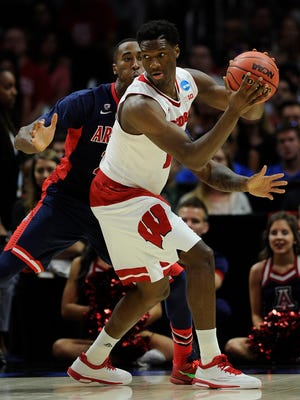 Wisconsin forward Nigel Hayes has been a fresh face in this season's NCAA tournament.