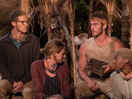 "Knoxville's ""Survivor: Ghost Island"" contestant Michael"
