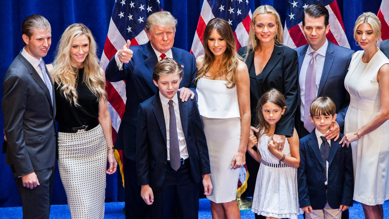 article news first family getting know tiffany trump