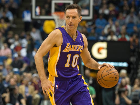 647efdcc565 Los Angeles Lakers' Steve Nash tries to get healthy but knows the end is  near