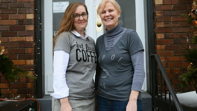 Missy Bobo, of Carsonville, and Sue Balysh, of Port Sanilac, opened Thumb Roast Coffee in Croswell together at the beginning of September.