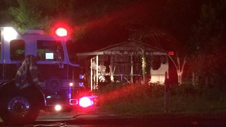 A suspicious house fire that started around 4 a.m. Thursday shut down parts of Broadway Avenue on the Westside for several hours.