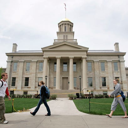 In this May 3, 2006, file photo, University of Iowa