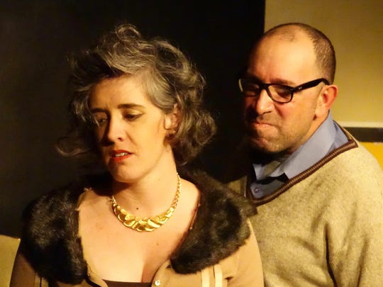 """The Lauren-Reilly Eliot Company opens its presentation of """"Who's Afraid of Virginia Wolf"""" at 7:30 p.m. Friday and Saturday at Cite' des Arts, 109 Vine St., in downtown Lafayette."""