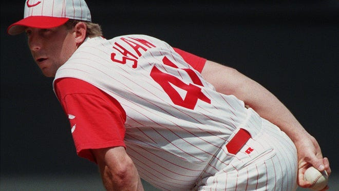 The Reds' Jeff Shaw in 1998.