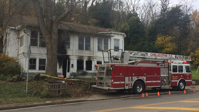 The Chillicothe Fire Department is investigating a house fire Wednesday morning on Western Avenue just west of Water Street near Plum Street.