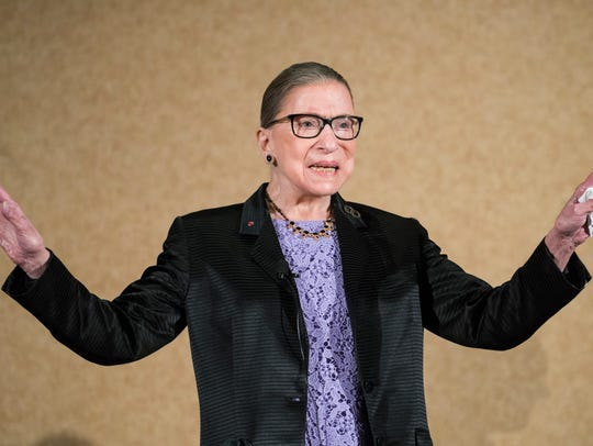 U.S. Supreme Court Justice, Ruth Bader Ginsburg, is