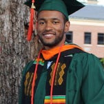 Desmond Pressey will graduate Saturday with a degree in mechanical engineering from the FAMU-FSU College of Engineering and on May 15, he will graduate from Morehouse College in Atlanta with a degree in applied physics.