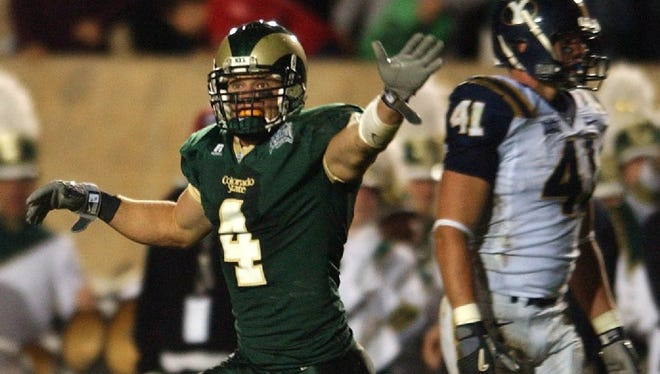 Former CSU star David Anderson is second in school history in career receptions and yards.