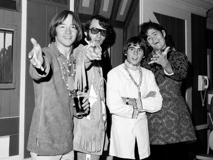 The Grammy Awards' best- new-artist category is tricky, not just because voters are tasked with foreseeing the future, but the eligibility rules are all over the place. Here's a look back at big names who were inexplicably overlooked, because of an error in judgment, Grammy red tape or both. |The Monkees (Peter Tork, Mike Nesmith, Davy Jones and Micky Dolenz) in 1967.