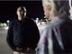 Doug Stewart (left) talks to Jack Boakes in a Walmart