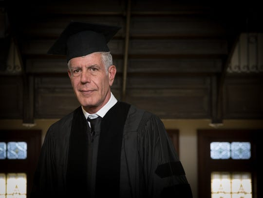 BPS Graduation with guest speaker Anthony Bourdain,