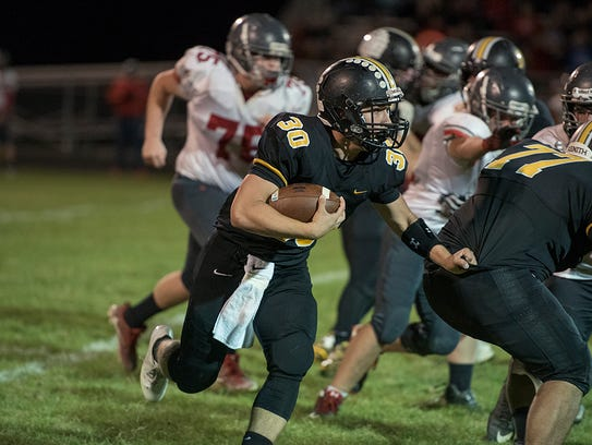 Trevor Shawber can cap off his senior year with a strong rushing performance against Upper Sandusky.