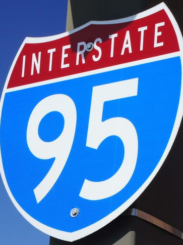 Work is nearly completed on Interstate 95 construction