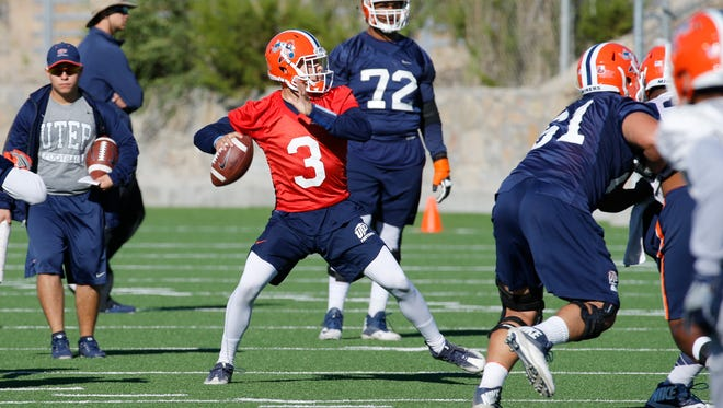 UTEP quarterback Mark Torrez along with Ryan Metz returned to the practice field along with the rest of the team Monday as the Miners held a light practice during the teams bye week. Metz saw some playing time Saturday night against Southern Mississippi in the teams sixth loss of the season. Metz and freshman quarterback Mark Torrez took all the snaps during practice with senior Zack Greenlee's status being unknown.