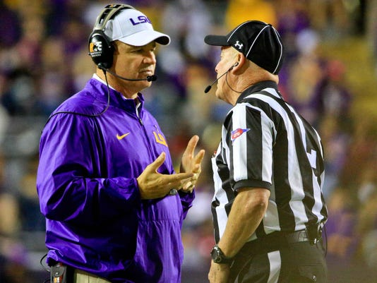 NCAA Football: Eastern Michigan at Louisiana State