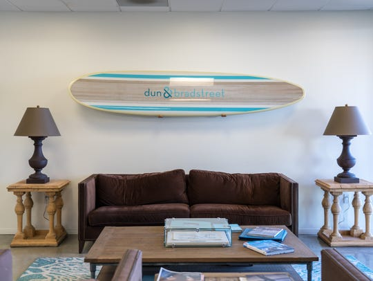 Inside Dun & Bradstreet's Los Angeles office.