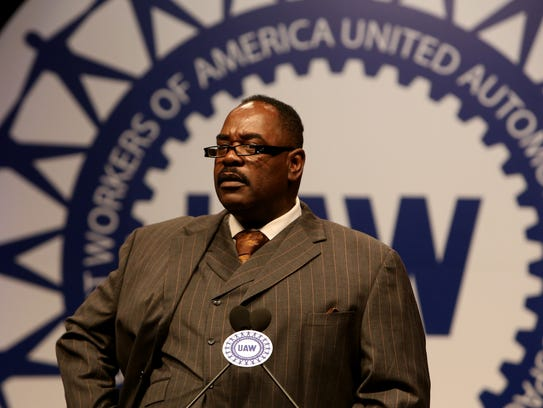 Outgoing UAW Vice President General Holiefield talks