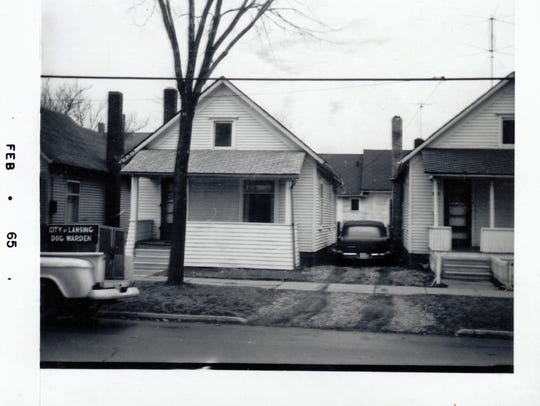 This house at 423 Beech St., in Lansing, is one of