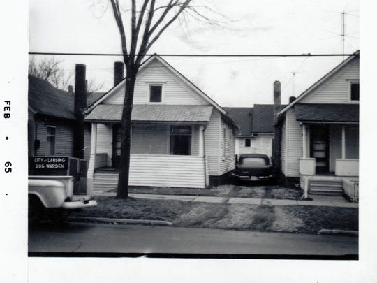 This house at 423 Beech St., in Lansing, is one of nearly 17,000 images available in CADL's Local History Online City of Lansing Assessor Photograph Collection. The photo was taken in February 1965.