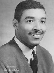 John E. Mullins Sr.'s 1963 yearbook picture from Tennessee