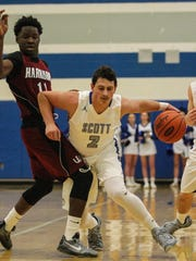 Jake Ohmer is one of the top players in Northern Kentucky, and is already Scott's all-time scoring leader.