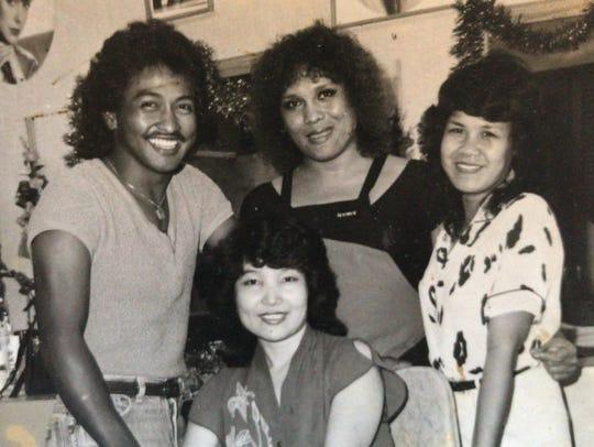 Susan Tingson (right) owned Hair Clinique, a salon