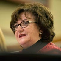 New York State Education Department Commissioner MaryEllen Elia testifies Jan. 27 during a joint legislative budget hearing on education in Albany.