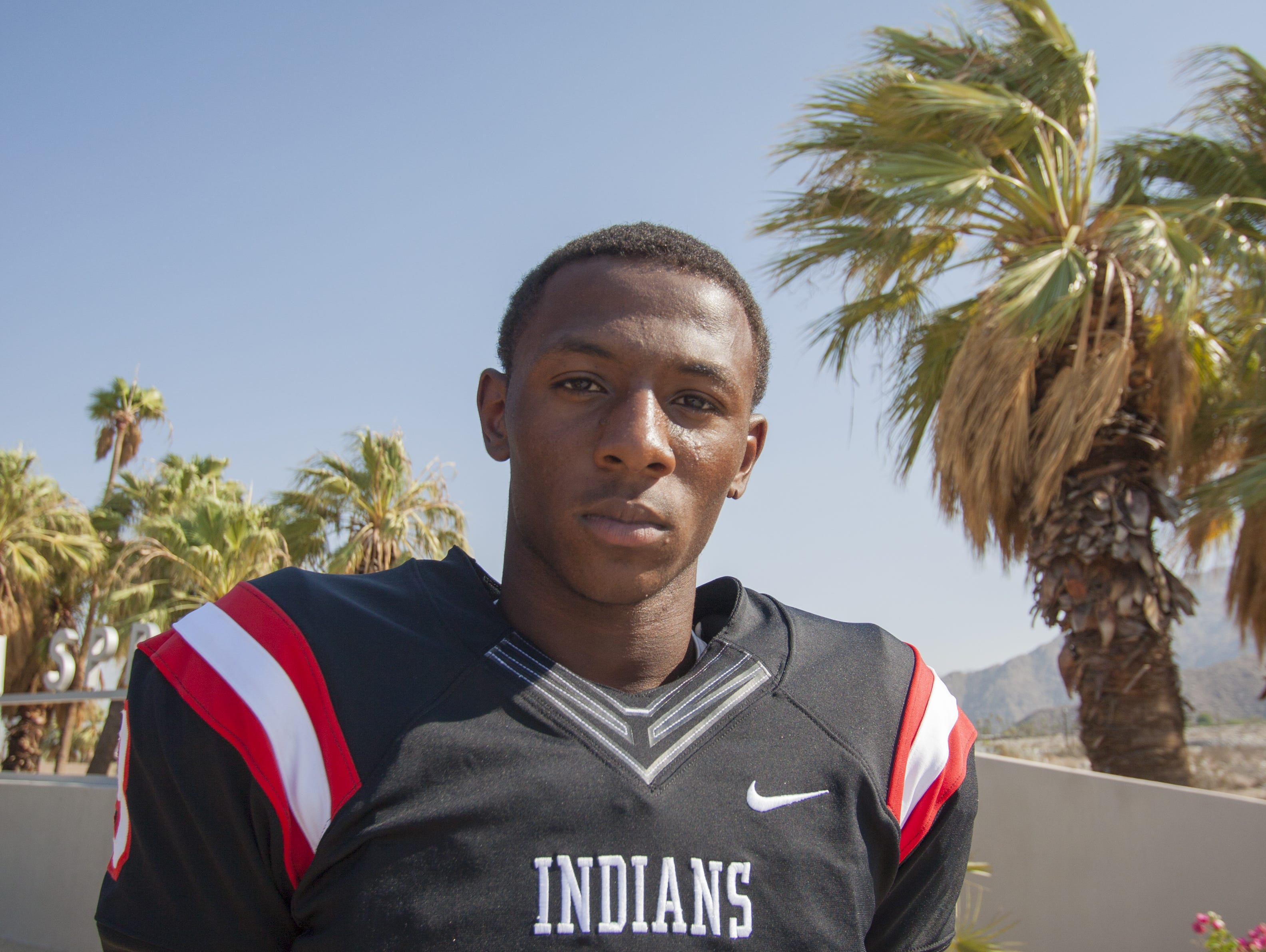 Trenton Thompson, Palm Springs senior, will announce his college decision on Wednesday.