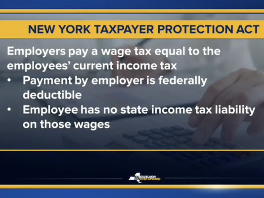 Cuomo tax income slide